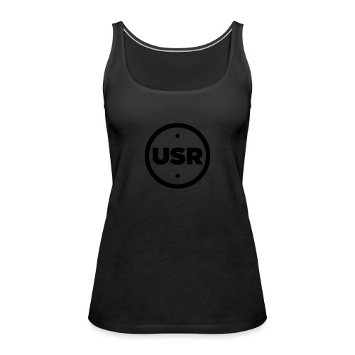 Unique Sessions Radio (USR) Logo - Women's Premium Tank Top