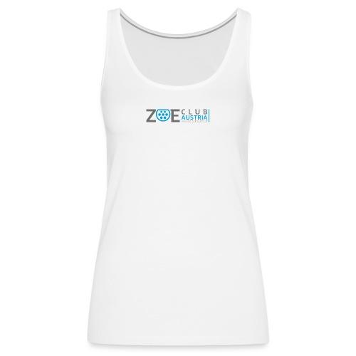 ZOE Club Austria QUERGREY - Frauen Premium Tank Top