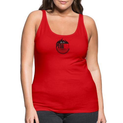 PEDAELA - Camiseta de tirantes premium mujer