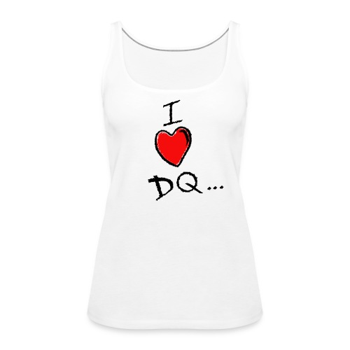 I Heart DQ Logo - Women's Premium Tank Top