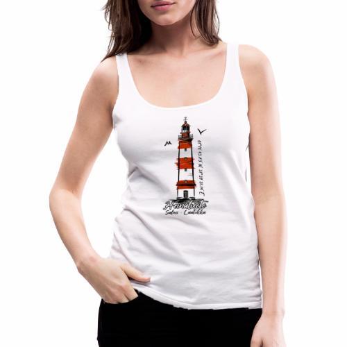 Old Finnish Lighthouse HEINÄLUOTO Textiles, Gifts - Naisten premium hihaton toppi