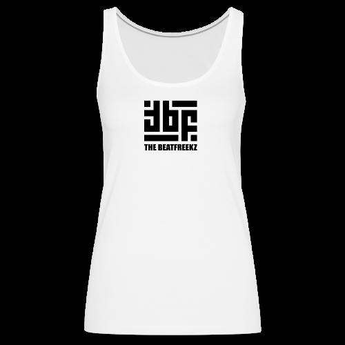 the beatfreekz logo 3 black - Women's Premium Tank Top