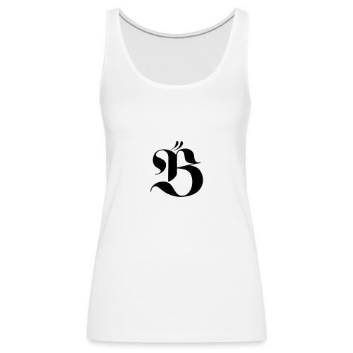 B logo - Premiumtanktopp dam