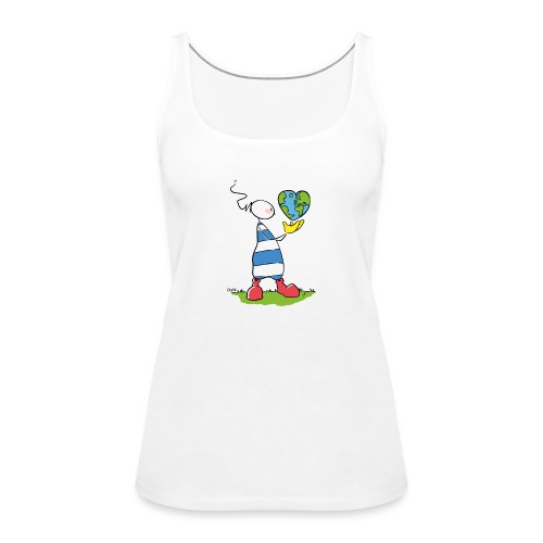 OUPS World - Frauen Premium Tank Top