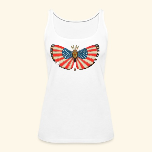 patriot moth - Canotta premium da donna