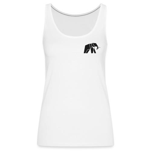 Schönes Elefanten Design für Elefanten Fans - Frauen Premium Tank Top