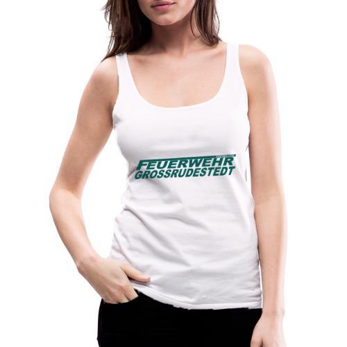 Schriftzug_FFG_gross - Frauen Premium Tank Top