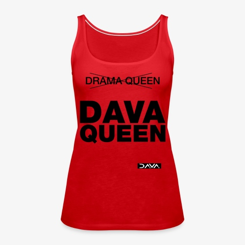 DAVA Queen - black - Women's Premium Tank Top