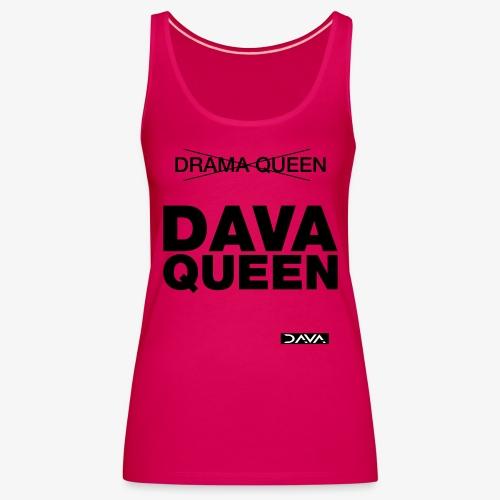 DAVA Queen - black - Women's Premium Tank Top