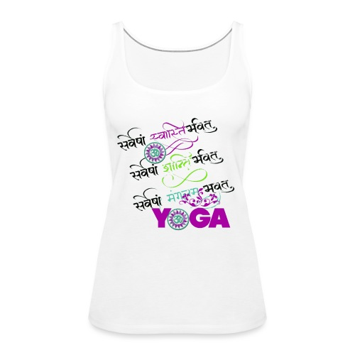 Sanskrit Yoga - Frauen Premium Tank Top