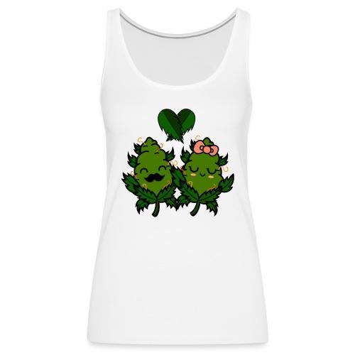 Mr & Ms Weed Nug - Camiseta de tirantes premium mujer