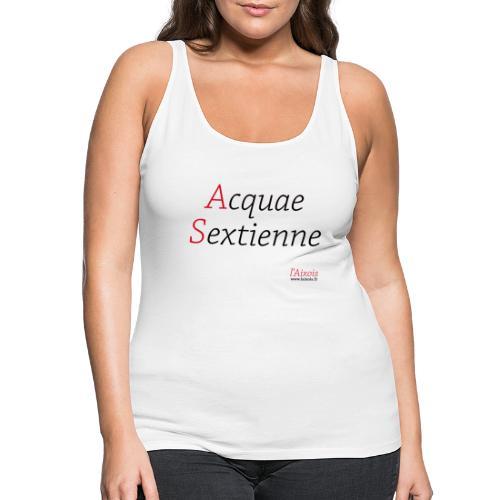 ACQUA SEXTIENNE - Débardeur Premium Femme
