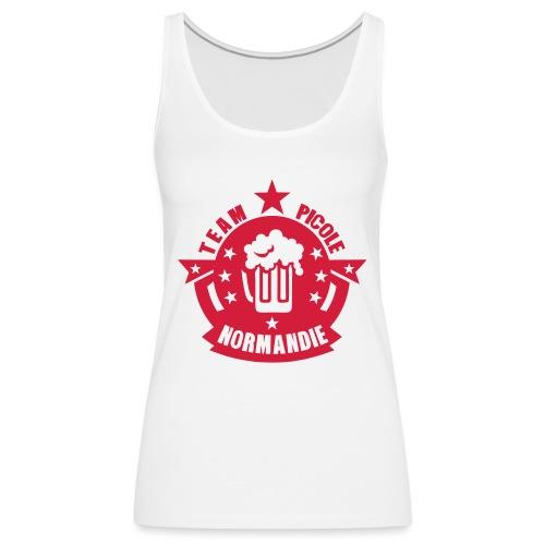 normandie team picole biere logo - Débardeur Premium Femme
