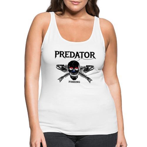 predator fishing Holland - Frauen Premium Tank Top