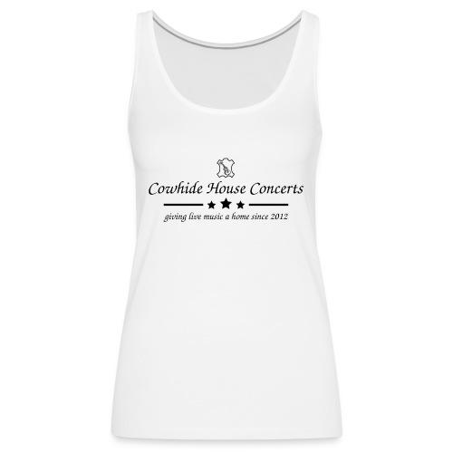 Cowhide House Concerts - Standard Design - Frauen Premium Tank Top