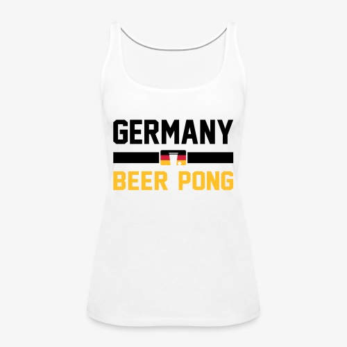 Germany Beer Pong - Frauen Premium Tank Top