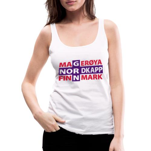Magerøya North Cape Finnmark - Women's Premium Tank Top