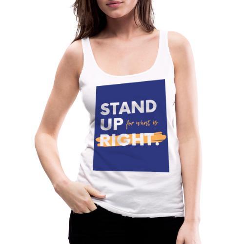 t-shirt personalise - Débardeur Premium Femme