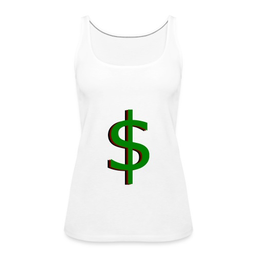 dollar - Vrouwen Premium tank top