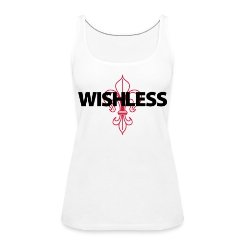 Wishless Logo - Frauen Premium Tank Top