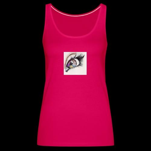 desenho design olhos eye Favim com 403064 - Vrouwen Premium tank top