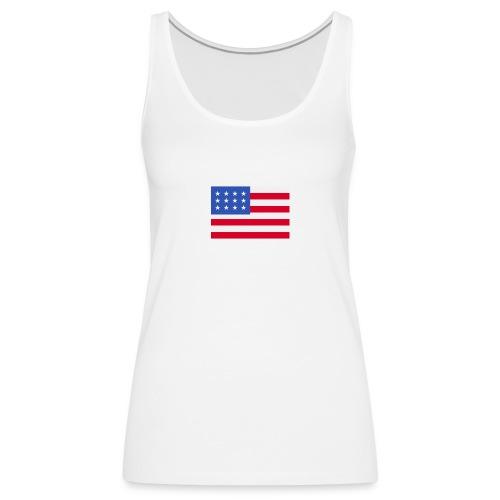 United States of America - Frauen Premium Tank Top