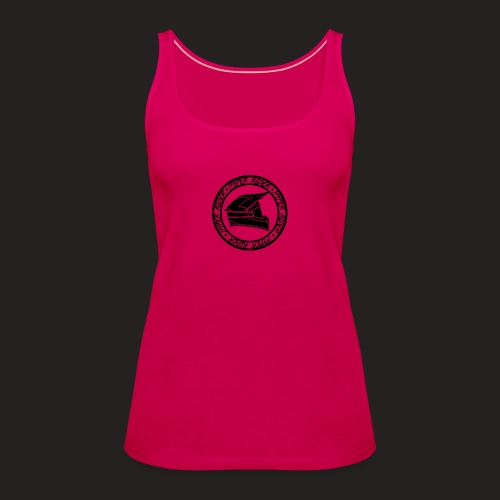 500hr black - Frauen Premium Tank Top