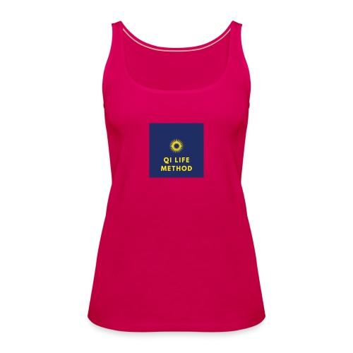 The Qi Life Method Sunlife Logo - Women's Premium Tank Top