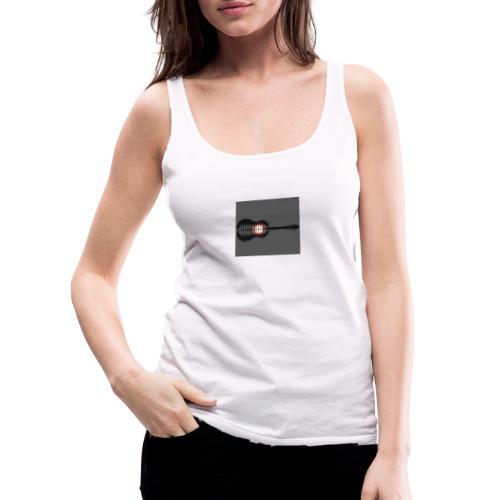 creciente orquestal - Camiseta de tirantes premium mujer