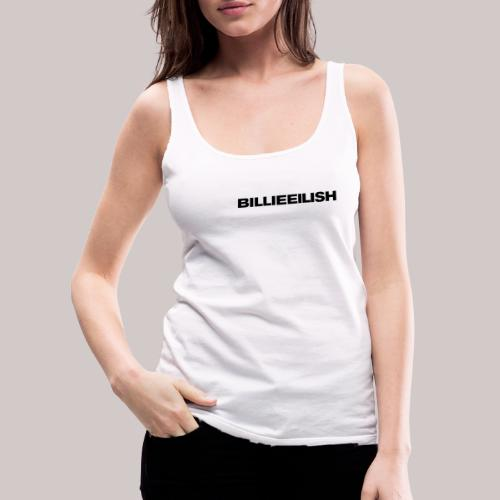 Billie Eilish logo - Vrouwen Premium tank top
