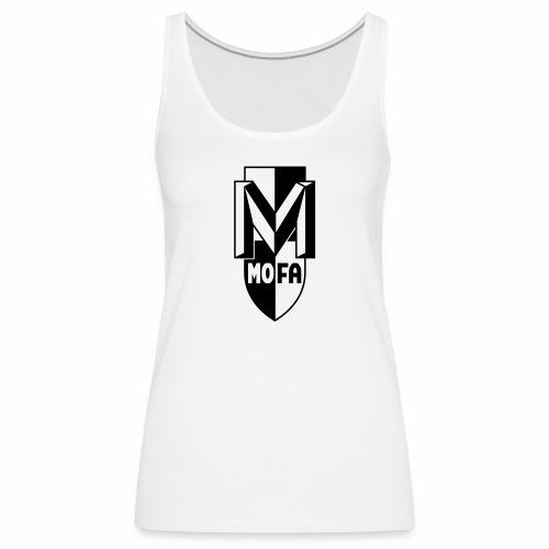 Moped Logo Parody (v1) - Women's Premium Tank Top