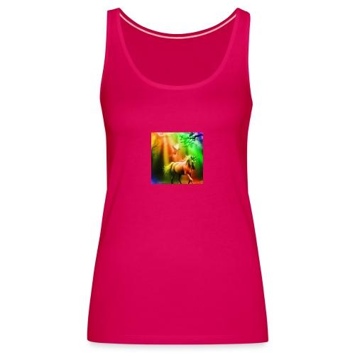 SASSY UNICORN - Women's Premium Tank Top