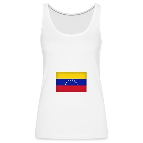 Venezuela logo - Camiseta de tirantes premium mujer
