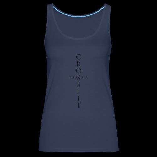 CrossFit Tuusula - Naisten premium hihaton toppi