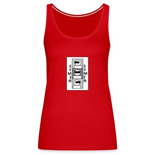 SYMEN - Vrouwen Premium tank top