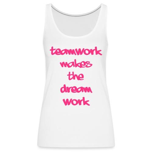 Teamwork - Vrouwen Premium tank top