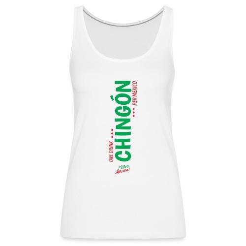 One Drink - Camiseta de tirantes premium mujer