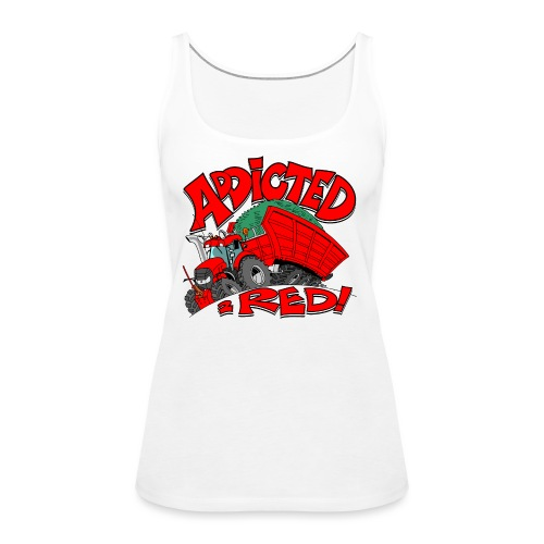 Addicted2RED - Vrouwen Premium tank top