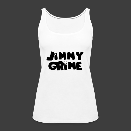 Jimmy Grime White Family Guy Shirt - Camiseta de tirantes premium mujer