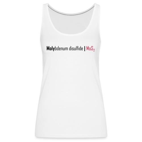 Molybdenum Disulfide - Women's Premium Tank Top