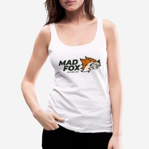 mad crazy fox - Frauen Premium Tank Top