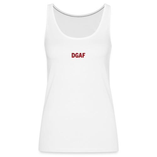 DGAF logo - Frauen Premium Tank Top
