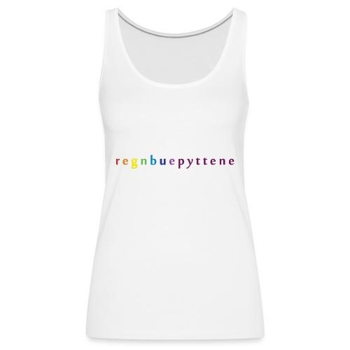 Regnbuepyttene - Premium singlet for kvinner