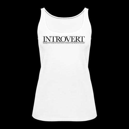 INTROVED WB - Women's Premium Tank Top