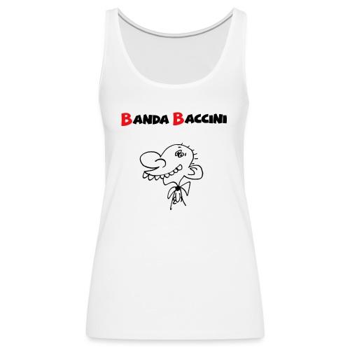 Banda Baccini. - Canotta premium da donna