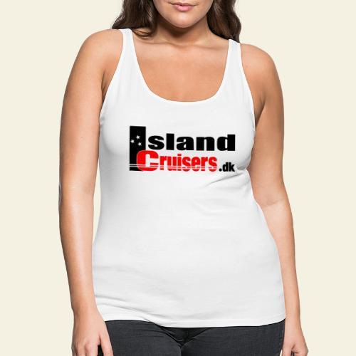 Island cruisers black - Dame Premium tanktop