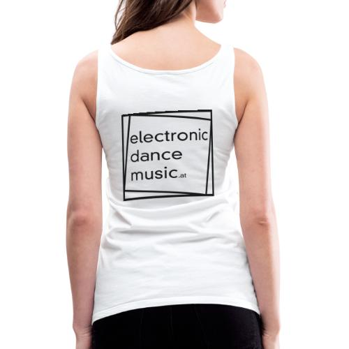 electronicdancemusic.at schwarz - Frauen Premium Tank Top