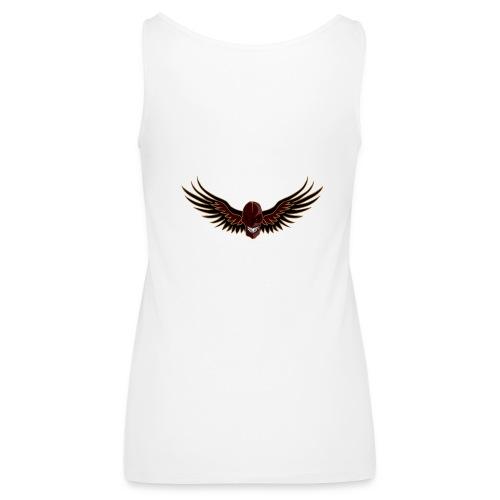 craneo aguila - Camiseta de tirantes premium mujer