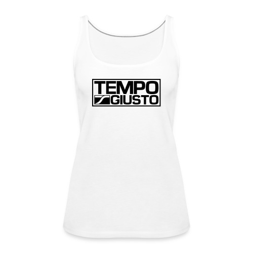 Tempo Giusto Rectangle - Women's Premium Tank Top
