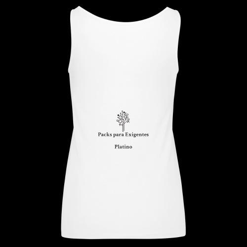 Packs para Exigentes Version Arbol - Camiseta de tirantes premium mujer